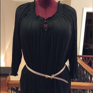 Tops - Black long sleeve blouse